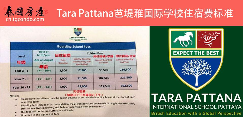 Tara Pattana International School Pattaya cost