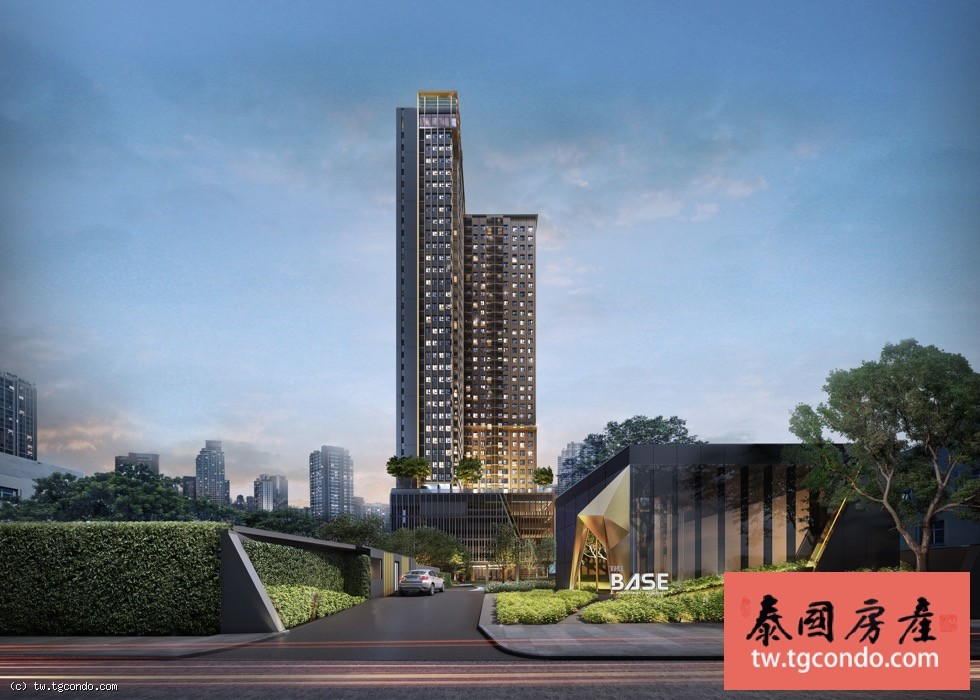 泰國曼谷上思睿Base楼盘 The Base Phetchaburi-Thonglor